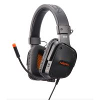 Micro-casque Gaming Two Dots Neon Noir et Orange pour PS4, Xbox One et Nintendo Switch