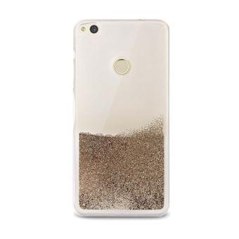 Coque Puro Sand Pailletée Or pour Huawei P8 Lite 2017