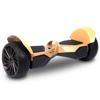 hoverboard evercross monster tout terrain 8 5 pouces or skateboard lectrique achat prix