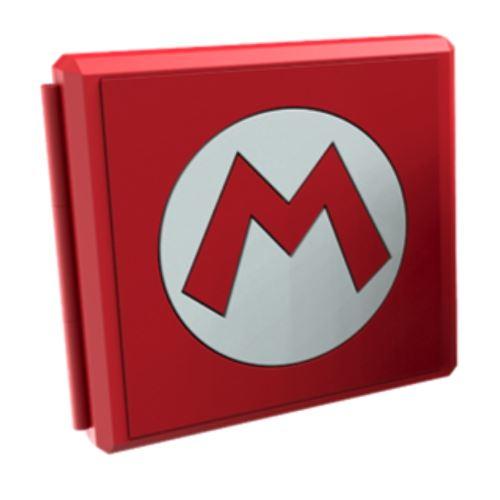 Boîtier de rangement Nintendo Mario M Symbol pour Nintendo Switch