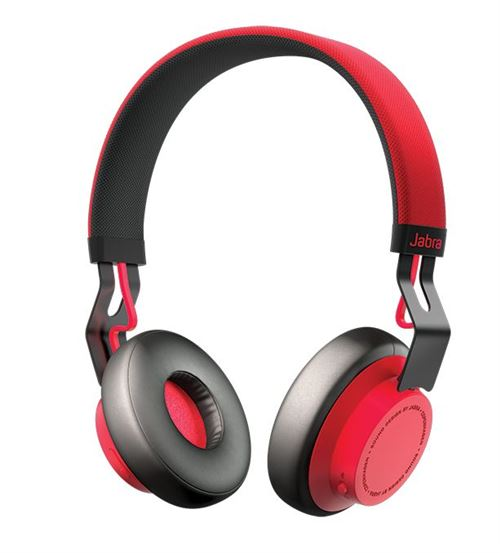Casque sans fil Jabra Move Rouge