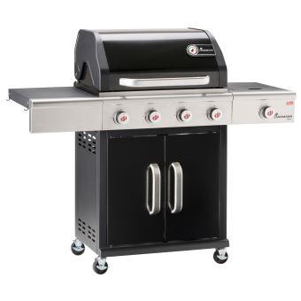 barbecue gaz landmann triton pts 4 1 noir cuisiner en ext rieur achat prix fnac. Black Bedroom Furniture Sets. Home Design Ideas