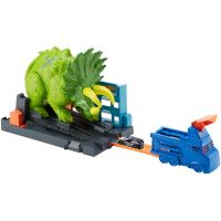 Circuit voitures Hot Wheels Attaque du Triceratops