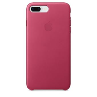 APPLE IPHONE 8+ / 7+ LEATHER CASE PINK FUCHSIA