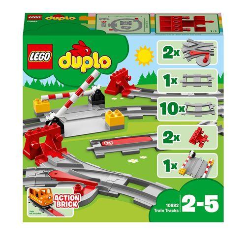 LEGO® DUPLO® Town Trains 10882 Les rails du train