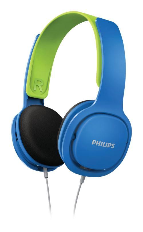 Casque audio pour enfant Philips SHK2000BL Robuste et confortable Bleu
