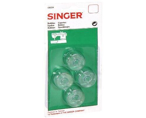 Accessoire machine à coudre Singer Set de 4 canettes hautes