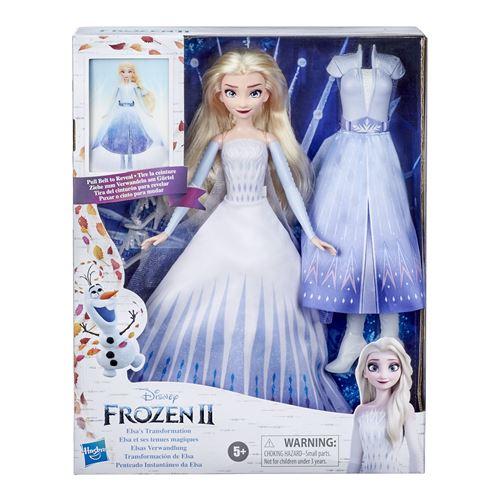 Poupée Disney Frozen La Reine des Neiges 2 Elsa Transformation
