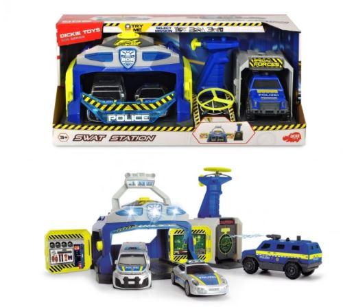 Set de jeu complet Dickie Toys Swat Station