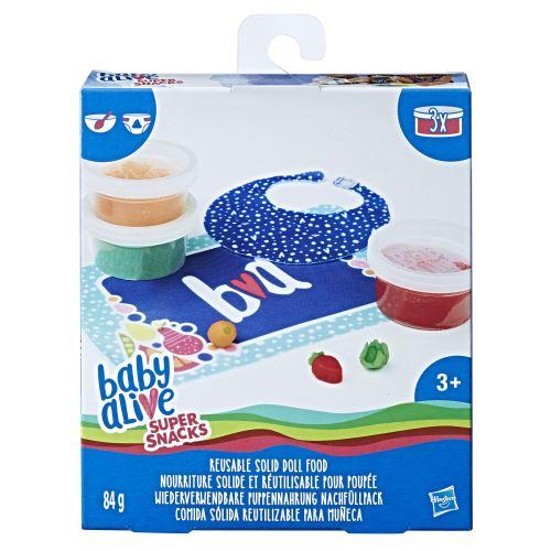 Kit nourriture Baby Alive Super Snacks