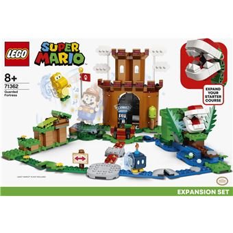 LEGO®SuperMario™ 71362 Ensemble d'extension La forteresse de la Plante Piranha