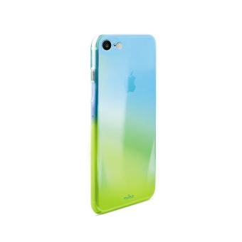 Coque Puro Hologramme Bleu pour iPhone 7 et 8