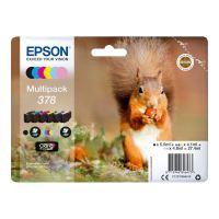Pack de 6 cartouches d'encre Epson Ecureuil 378