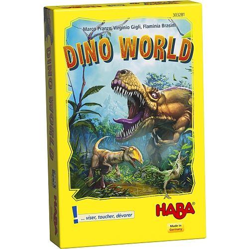 Jeu de cartes Haba Dino World