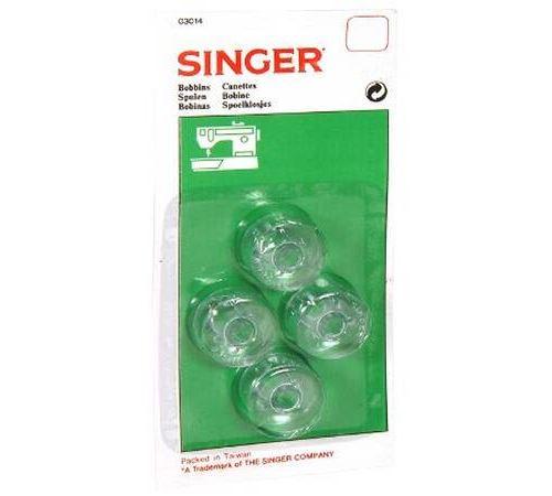 Accessoire machine à coudre Singer Set de 4 canettes basses