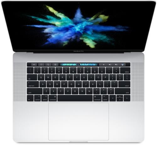 Apple MacBook Pro 15.4 Touch Bar 256 Go SSD 16 Go RAM Intel Corei7 quadricur à 2,8GHz Argent Nouveau
