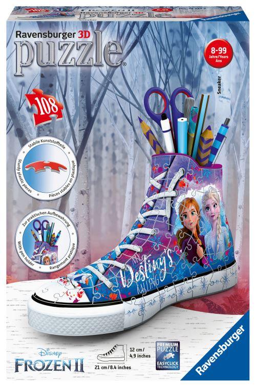 Puzzle 3D Ravensburger Sneaker Disney Frozen La Reine des Neiges 2