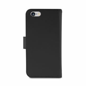 Etui Folio Puro Détachable Cuir Noir pour iPhone 8 et 7