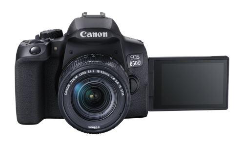 Appareil Photo Reflex Canon EOS 850D + objectif 18-55 mm IS