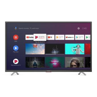 "TV Sharp 50BL5EA 4K UHD Smart TV 50"" Gris foncé"