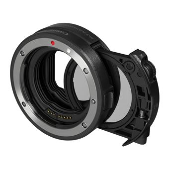 Bague d'adaptation Canon avec filtre insérable A polarisant circulaire