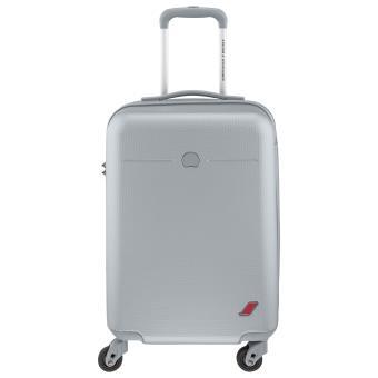 valise cabine delsey envol 4 roues 55 cm grise achat prix fnac
