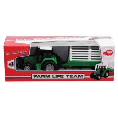 Tracteur avec remorque Dickie Toys Modèle aléatoire
