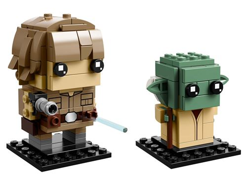 LEGO® BrickHeadz Star Wars™ 41627 Luke Skywalker™ & Yoda™