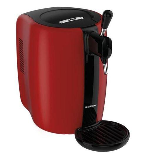 Machine à bière Seb BeerTender VB310510 70 W Rouge et Noir