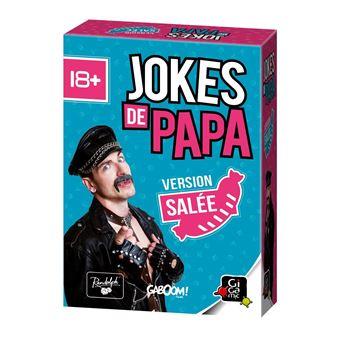 Jeu de société Gigamic Jokes de Papa Extension Salée