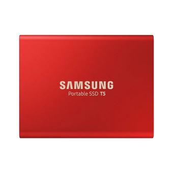 Samsung T5 Externe SSD Schijf 1TB Rood