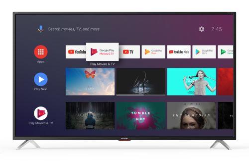 """TV Sharp 65BL5EA 4K UHD Smart TV 65"""""""""""""""" Gris foncé - Téléviseur LCD 56"""" et plus ."""