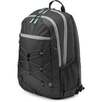 """Sac à dos HP Active Noir et vert menthe pour PC Portable 15.6"""""""