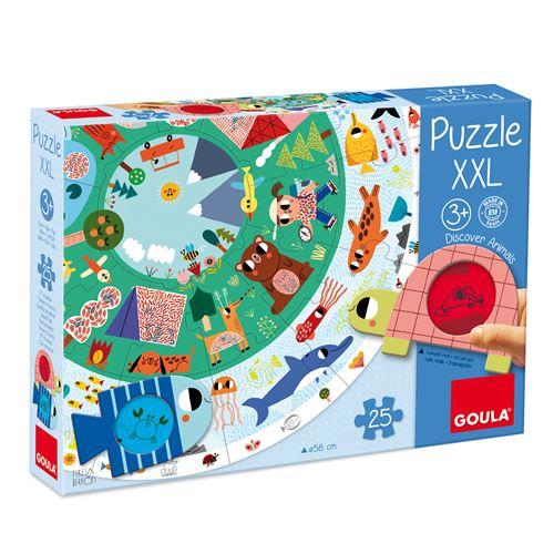Puzzle XXL Goula Animaux 25 pièces