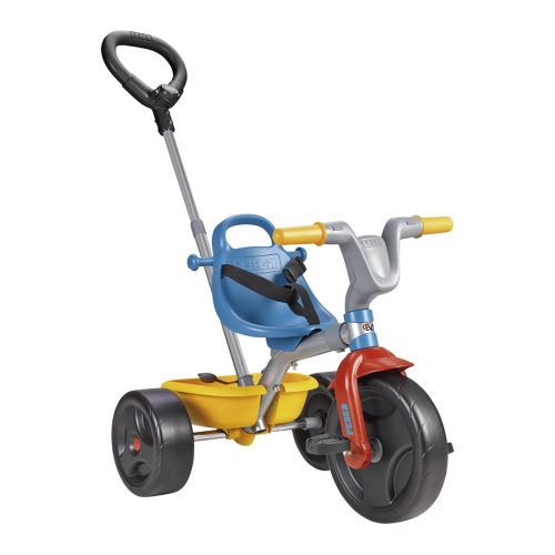 Tricycle Feber Evo Trike 3 en 1 Go Bleu et Gris - Tricycle. Achat et vente de jouets, jeux de société, produits de puériculture. Découvrez les Univers Playmobil, Légo, FisherPrice, Vtech ainsi que les grandes marques de puériculture : Chicco, Bébé Confort