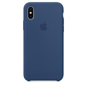 APPLE IPHONE X SILICONE CASE BLUE COBALT