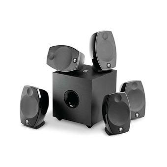 Pack d'enceintes compacte Focal Sib Evo 5.1 Noir