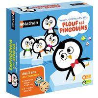 Jeu de société Nathan Plouf les pingouins
