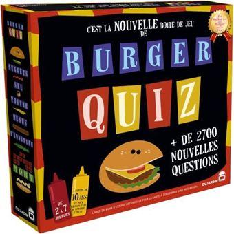 Jeu de société Dujardin Burger Quiz