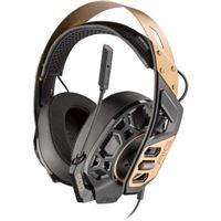 Micro-casque Gaming Plantronics RIG 500 PRO Noir et Bronze