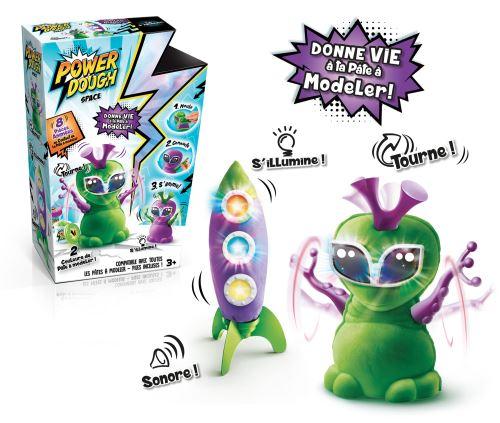 Fnac.com : Pâte à modeler Crazy Space Power Dough - Kit loisir créatif. Achat et vente de jouets, jeux de société, produits de puériculture. Découvrez les Univers Playmobil, Légo, FisherPrice, Vtech ainsi que les grandes marques de puériculture : Chicco,