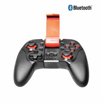 Manette Smartphone et PC Alpha Omega Players Bluetooth Noir et Rouge