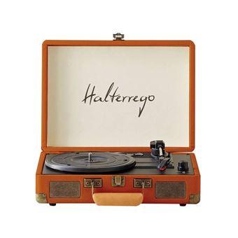 Platine vinyle Halterrego Liberty Cognac