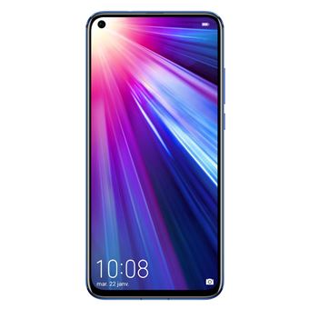 Smartphone Honor View 20 Double SIM 256 Go Bleu Fantôme