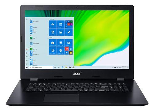 "PC Portable Acer Aspire 3 A317-52-54JJ 17,3"" Intel Core i5 12 Go RAM 128 Go SSD + 1 To SATA Noi"