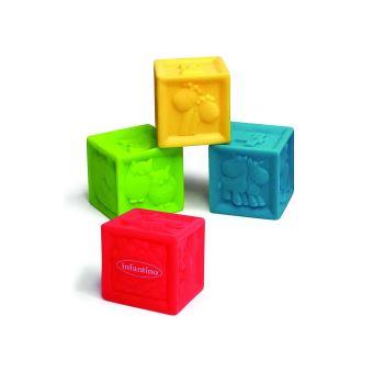 pack de 4 cubes souples sensoriels infantino cubes achat prix fnac. Black Bedroom Furniture Sets. Home Design Ideas