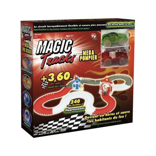 Set Circuit Best of TV Magic Tracks Méga Pompiers