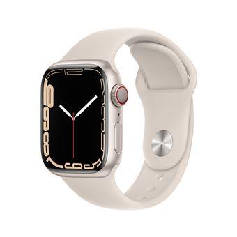 Montre connectée Apple Watch 41MM Alu/Lumière Stellaire Series 7 Cell