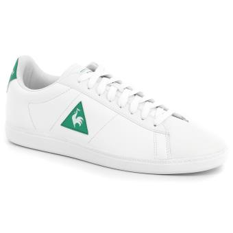 2b28fa9aac6 Chaussures Le coq sportif Courtset Lea Blanches et vertes Taille 41
