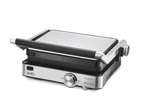 Grille-viande Simeo GCA660 2000 W Argent